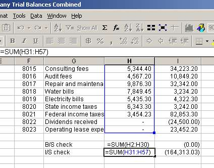 Excel vlookup to compare trial balances function and example ...